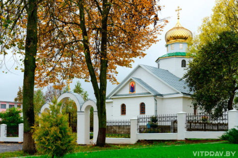 Храм святителя Николая Чудотворца г. Сенно