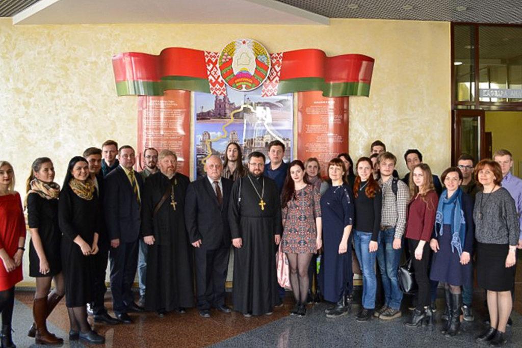 Витебск посетили участники международного проекта «Жемчужное ожерелье Святой Руси»