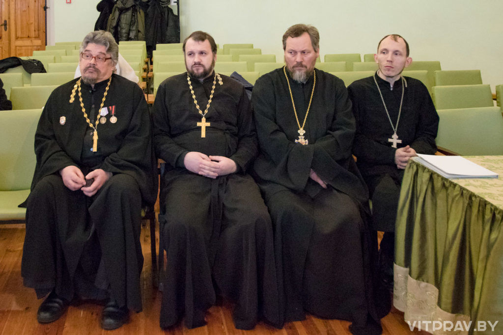 В актовом зале Витебской духовной семинарии прошел ежегодный семинар по тюремному служению