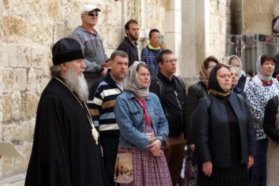 Архиепископ Димитрий совершил паломничество на Святую землю