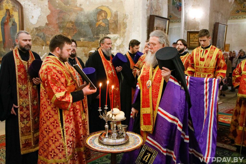 Митрополит Истринский Арсений и архиепископ Витебский и Оршанский Димитрий совершили всенощное бдение в храме святой великомученицы Ирины