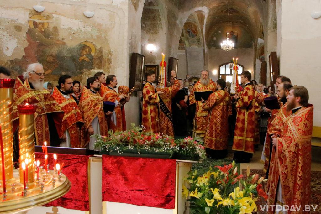 В храме святой великомученицы Ирины отметили престольный праздник