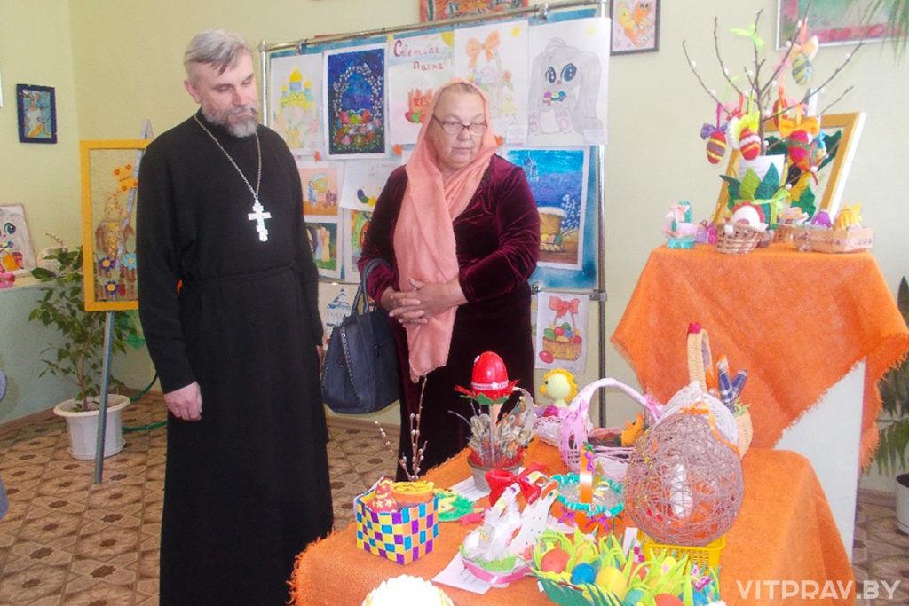 В Чашникском благочинии прошел VIII районный детский фестиваль «Пасхальный перезвон»