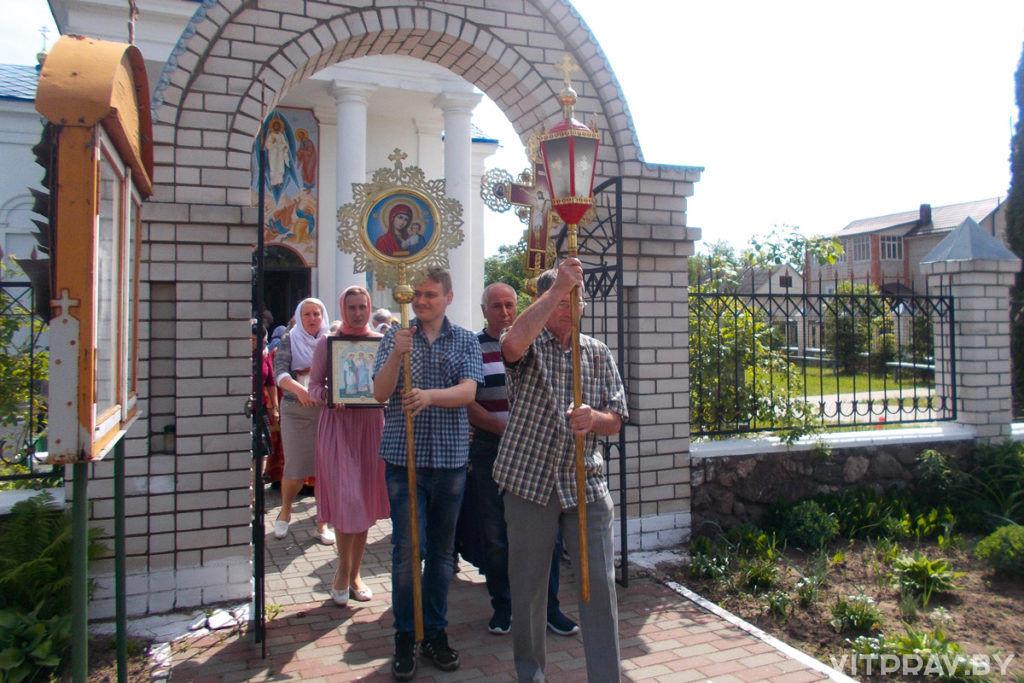 В Чашниках состоялся крестный ход по случаю дня памяти святителя Николая