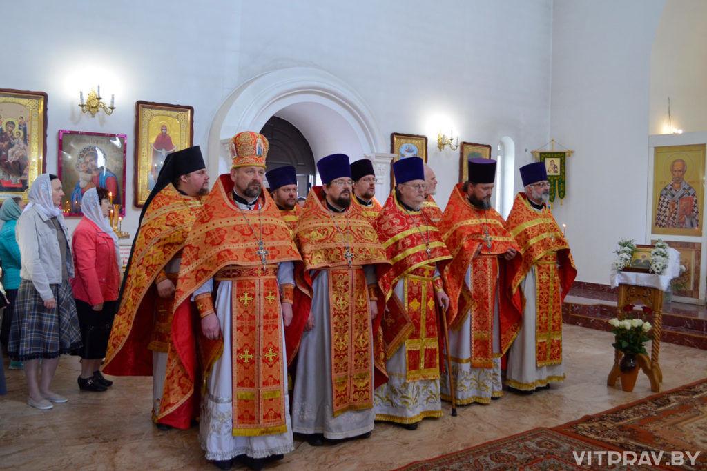 В храме святой блаженной Матроны Московской города Витебска отметили престольный праздник