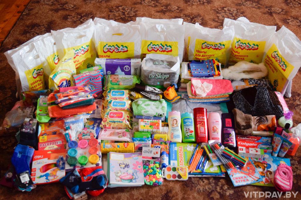 Приход храма Преображения Господня г. Лепеля провел благотворительную акцию «Пасхальный подарок»