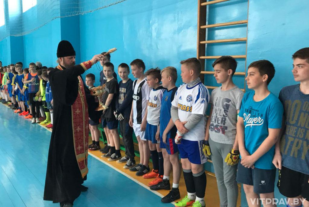 В Орше прошёл пасхальный турнир по футболу «Пасхальный дар»