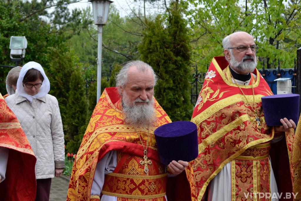 В храме святого великомученика Георгия Победоносца города Витебска отметили престольный праздник