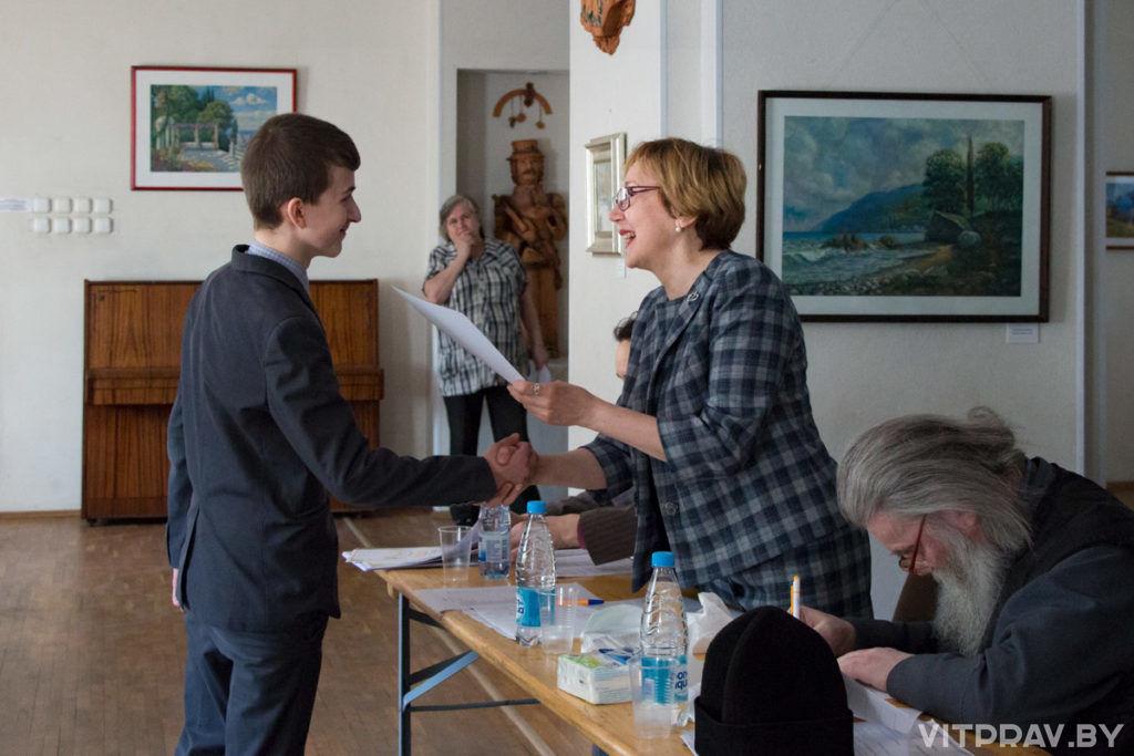 В Витебске выбрали лучших чтецов духовной поэзии и прозы