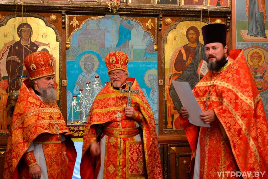 В храме святого великомученика Георгия Победоносца торжественно отметили 60-летие протоиерея Николая Коляды