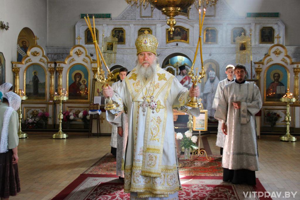 В праздник Вознесения Господня архиепископ Димитрий совершил Литургию в Марковом мужском монастыре