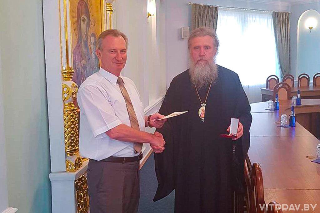 Помощник Президента Беларуси удостоен Юбилейной медали Русской Православной Церкви