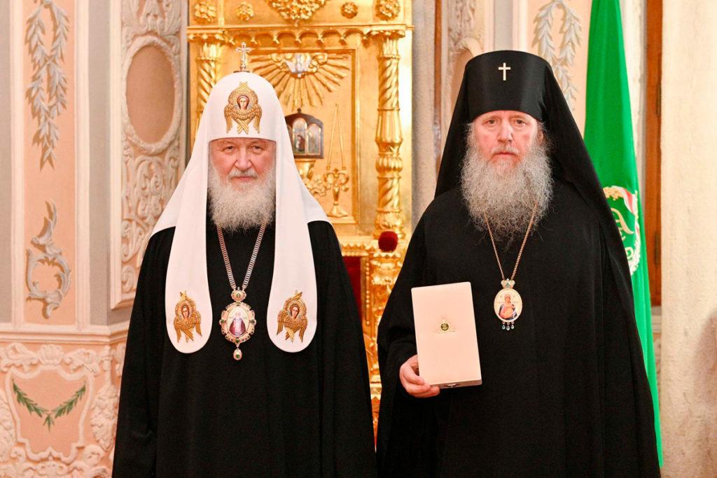 Архиепископ Витебский и Оршанский Димитрий был удостоен церковной награды