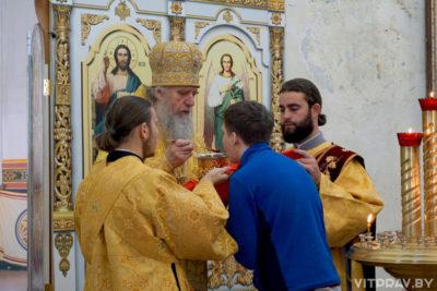 Архиепископ Димитрий совершил Литургию в храме святой великомученицы Ирины в Покровском города Москвы