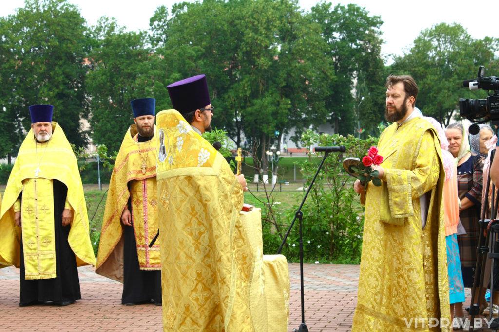 Оршанское духовенство приняло участие в праздновании Дня города