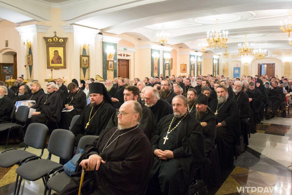 В Витебске прошло очередное собрание духовенства и мирян Витебской епархии