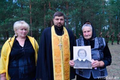 В Лепеле состоялось перезахоронение останков 23 погибших бойцов