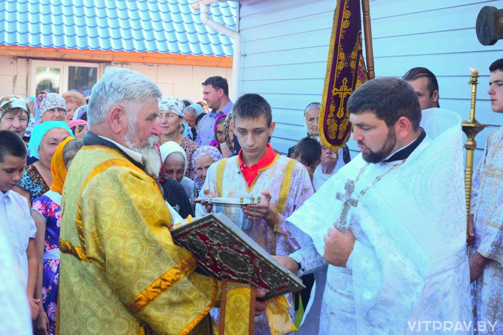 В праздник Преображения Господня в одноименном храме города Лепеля прошли престольные торжества