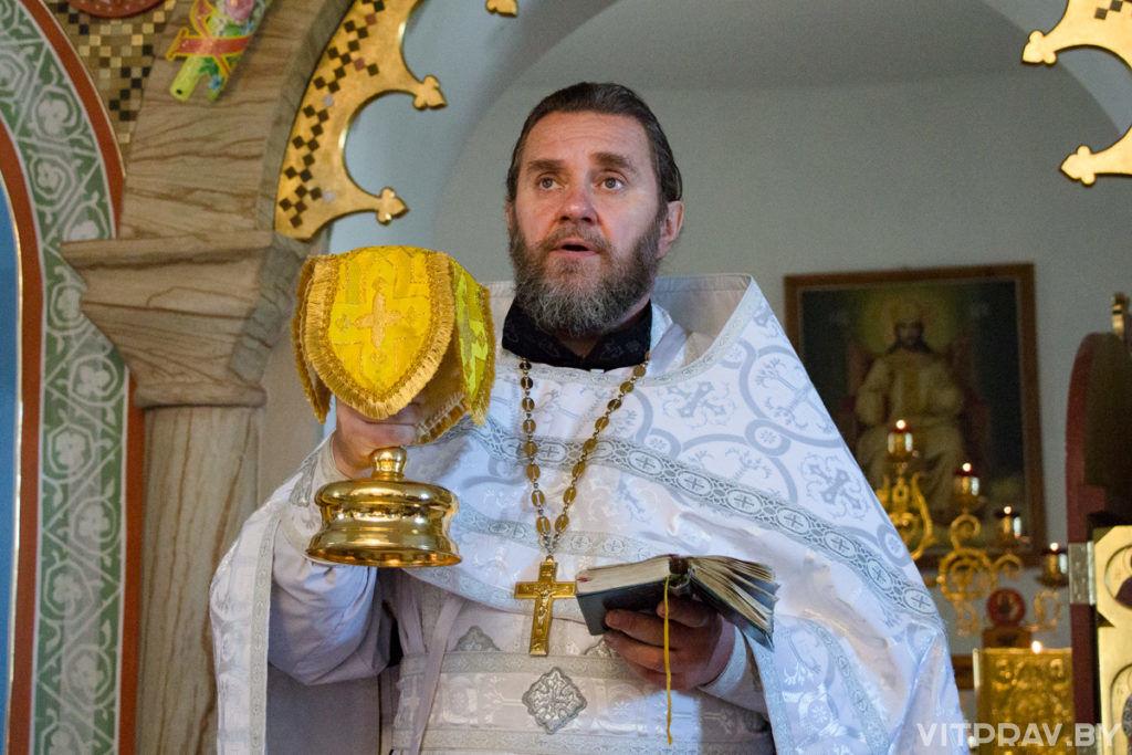 Крестный ход, посвящённый предстоящему празднику Успения Пресвятой Богородицы, в Городке. Фоторепортаж
