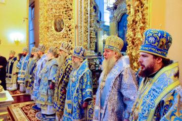 Архиепископ Димитрий принял участие в торжествах по случаю дня празднования Смоленской иконы Божией Матери «Одигитрия»