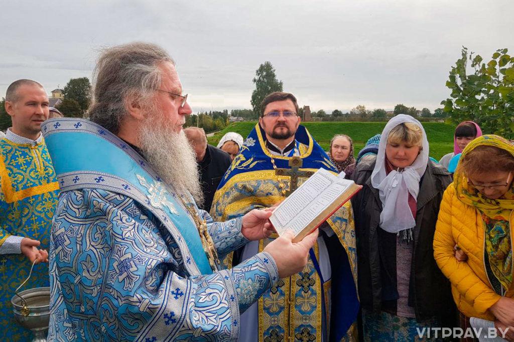 В храме Рождества Богородицы города Орши отметили престольный праздник