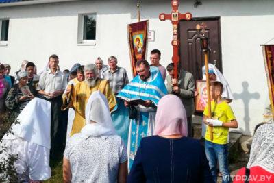 В храме Владимирской иконы Божией Матери города Лепеля отметили престольный праздник