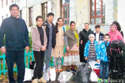 В Витебске прошло мероприятие по оказанию помощи людям, находящимся в учреждении «Пункт временного поселения беженцев в городе Витебске»