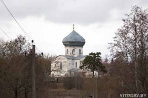 Храм Вознесения Господня д. Хвощно Городокского района