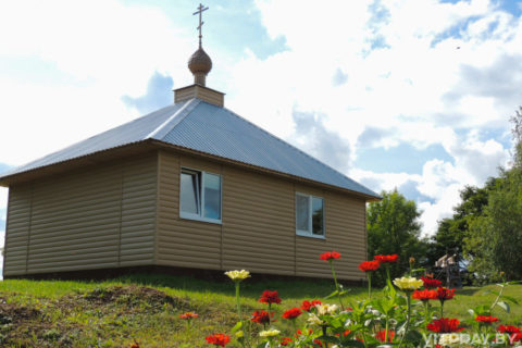 Храм-часовня Успения Пресвятой Богородицы д. Слобода Витебского района