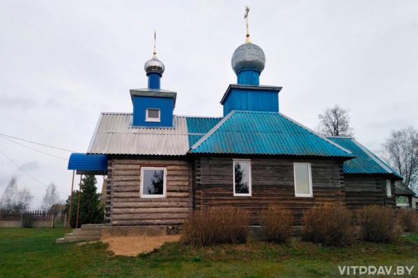Храм Казанской иконы Божией Матери п. Яново Сенненского района