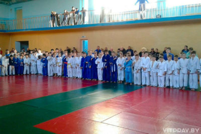 В Витебске прошёл открытый областной турнир по дзюдо на призы Витебской епархии