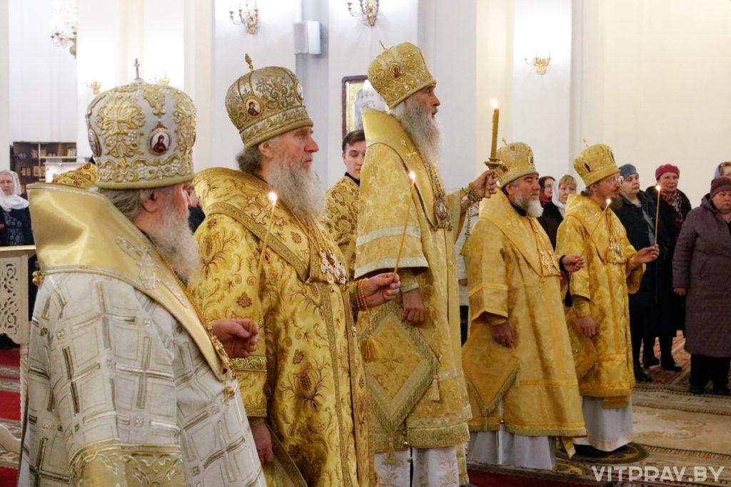 В кафедральном соборе Витебска состоялось всенощное бдение, приуроченное к 30-летию восстановления епископской кафедры на Витебщине