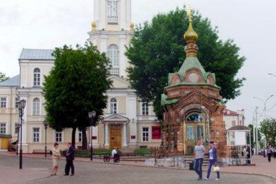 Храмы старого Витебска