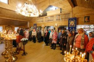 В храме святого апостола Андрея Первозванного города Витебска отметили престольный праздник