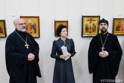 """В Витебском областном краеведческом музее открылась выставка """"Современная икона"""""""
