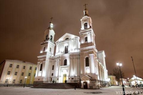 Расписание богослужений на Рождество Христово в Витебске в 2020 году