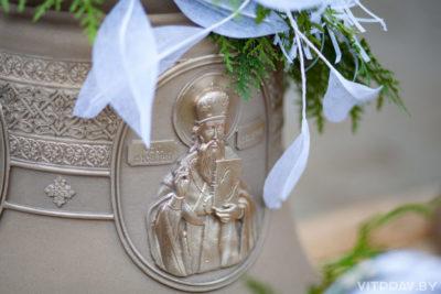 В день памяти святителя Василия Великого в одноимённом храме Витебска освятили колокола