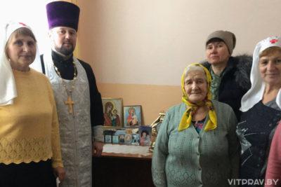 В Лиозно отметили праздник Рождества Христова