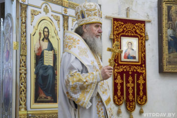 В День своего рождения архиепископ Димитрий совершил Литургию в храме святой великомученицы Ирины