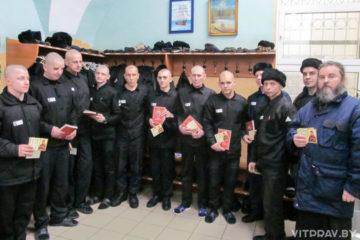 Старший тюремный священник епархии поздравил с Рождеством Христовым людей, находящихся из СИЗО-2 и ЛТП N4