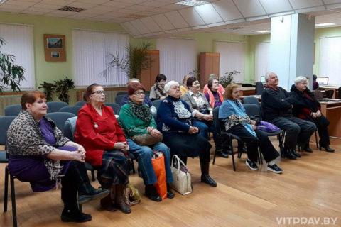 В Центральной библиотеке Витебска прошла встреча, посвящённая Великому посту