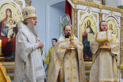 В Неделю о блудном сыне архиепископ Димитрий совершил Литургию в храме святой великомученицы Ирины
