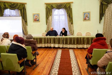 """В актовом зале семинарии прошла премьера фильма о святом Гаврииле (Ургебадзе) """"Я жду вас в Самтавро"""""""