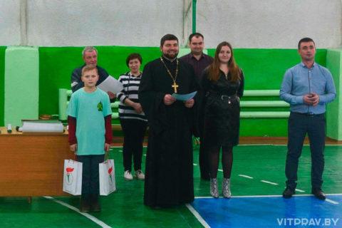 В Лепеле состоялся ежегодный турнир по волейболу на призы храма Преображения Господня