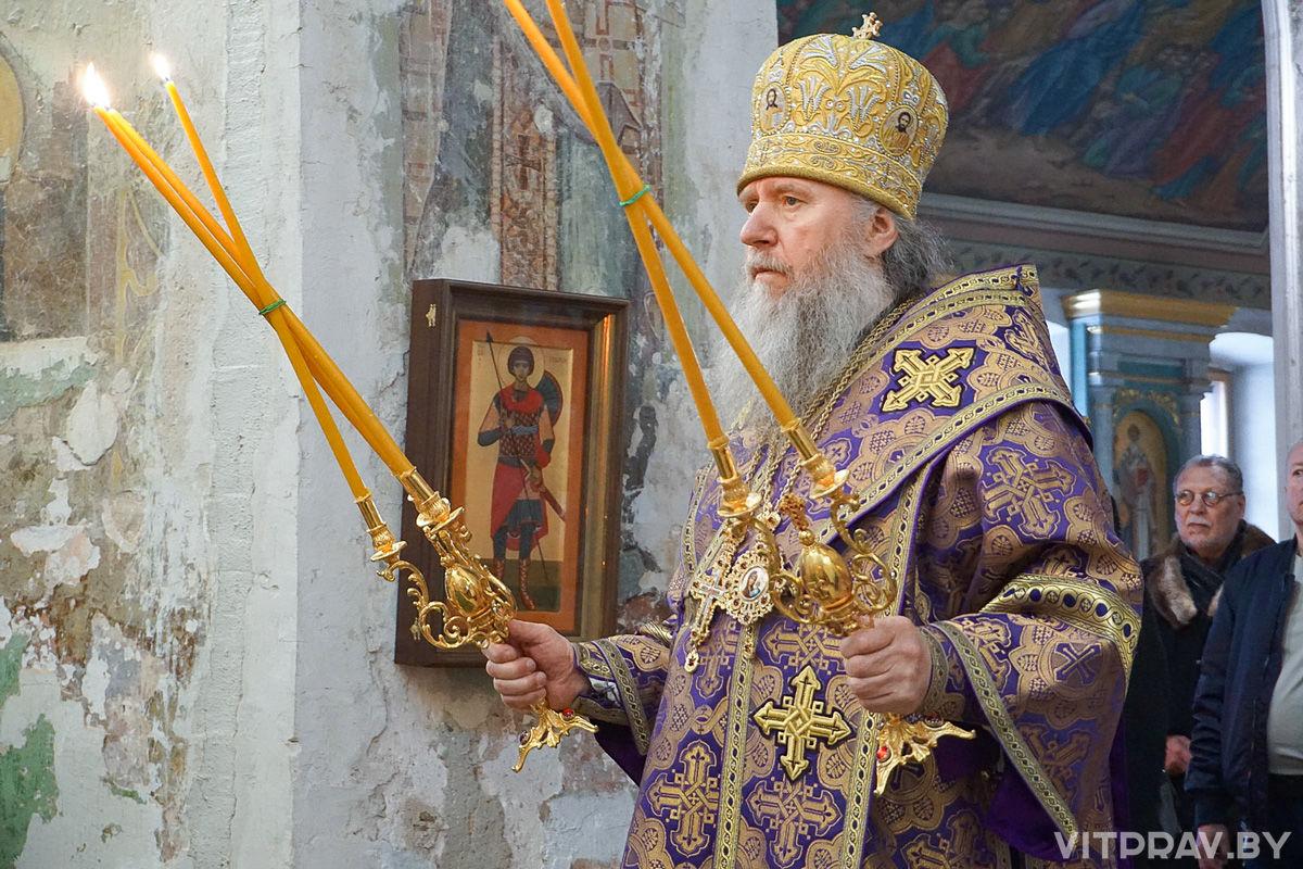 В Неделю Торжества Православия архиепископ Димитрий совершил Литургию в храме святой великомученицы Ирины города Москвы