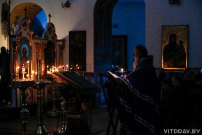 Во вторник первой седмицы Великого поста архиепископ Димитрий совершил богослужение в Свято-Троицком Марковом мужском монастыре