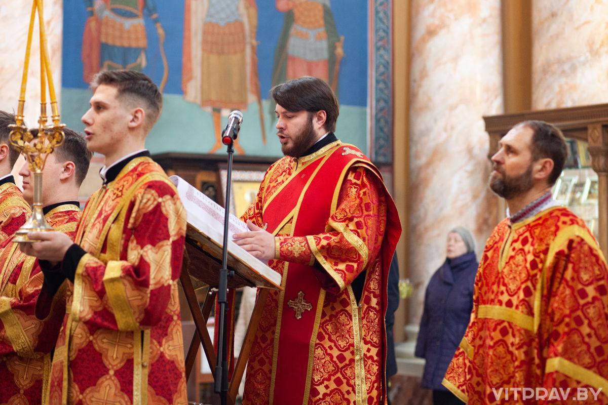 Престольный праздник в храме Воскресения Христова города Витебска. Фоторепортаж