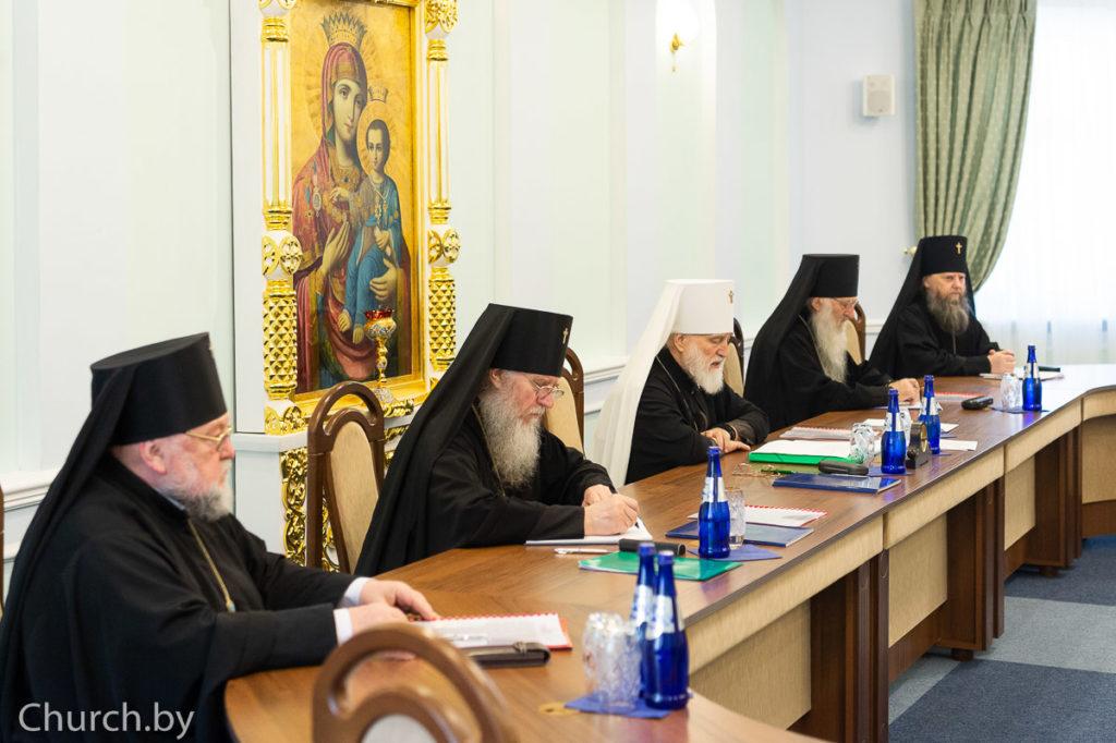 заседание Синода Белорусской Православной Церкви