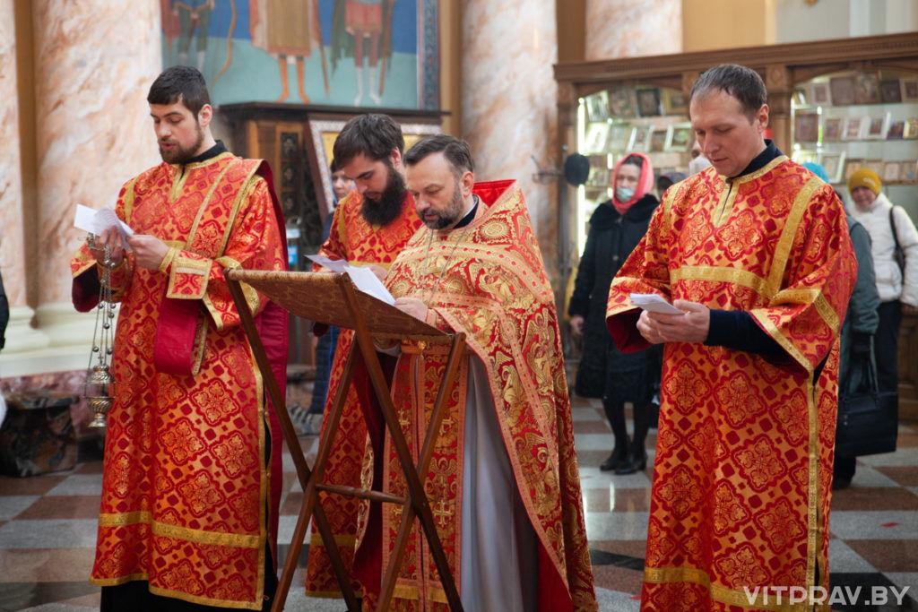 Радоница в храме Воскресения Христова города Витебска