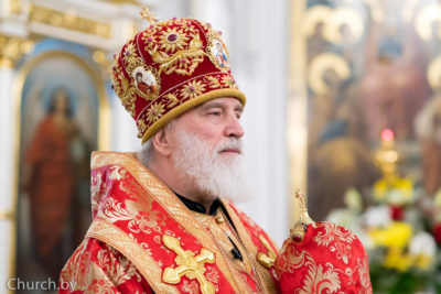 Пасхальное послание митрополита Минского и Заславского Павла